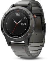 Zales Garmin fAnixA 5 Grey Smart Watch (Model: 10-01688-20)