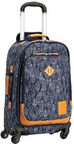 Northfield Navy Feather Rolling Suitcase