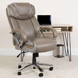 Latitude Run Bell Trace Ergonomic Executive Chair Upholstery Color: Gray