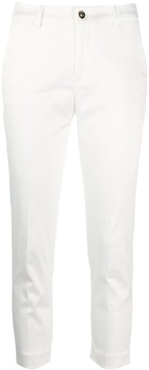 Liu Jo Cropped Skinny Trousers