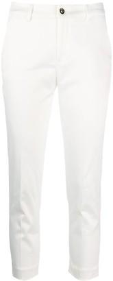 Liu Jo cropped skinny trousers
