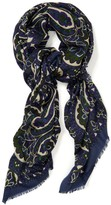 J.Mclaughlin Reed Wool Scarf in Cavesson