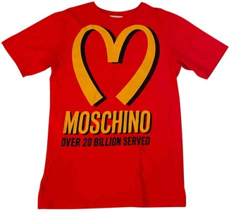 Moschino Red Cotton Top for Women