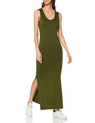 find. SYHELBISE Maxi Dress, (Green), (Size:L)