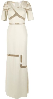 Gloria Coelho maxi dress