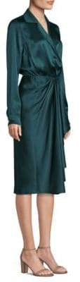 Jason Wu Silk Charmeuse Wrap Dress