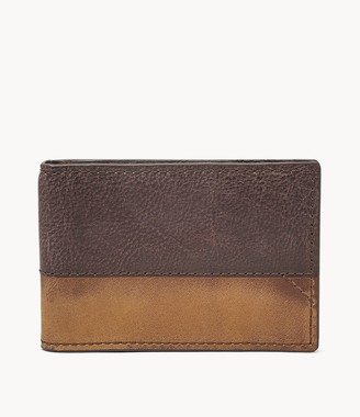 Fossil Duron Rfid Front Pocket Wallet Bifold Wallet SML1715201