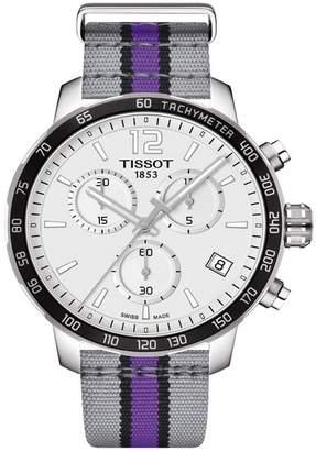 Tissot Men's Quickster Chronograph NBA Sacramento Kings Watch, 42mm