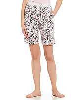 Karen Neuburger Floral Bermuda Sleep Shorts
