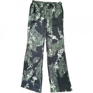 Edun Black Silk Trousers