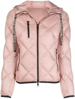 Moncler padded zip-front jacket