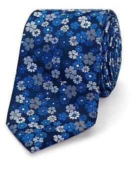 David Jones Floral Sustainable Tie