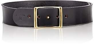 C.S. Simko Women's Leather Belt - Black