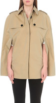 Burberry Wolseley cotton-gabardine trench cape