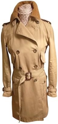 Ralph Lauren Beige Cotton Trench Coat for Women
