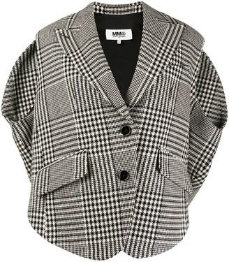 MM6 MAISON MARGIELA Boxy-Fit Sleeveless Jacket