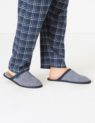 Marks and Spencer Fleece Lined Mule Slippers