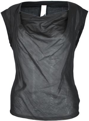 Format LIZZ Black Plain Blouse - XS - Black