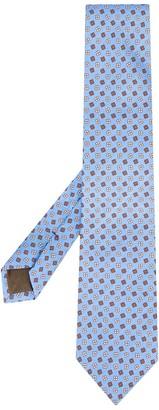 Church's Floral-Print Silk Tie