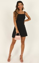 Showpo Afternoon Glow Dress in charcoal - 6 (XS) Dresses