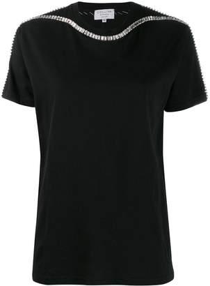 Collina Strada crystal-embellished T-shirt
