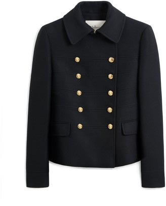 Mulberry Lorna Jacket Black Winter Twill