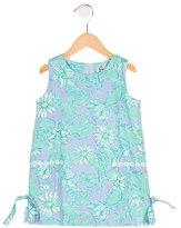Lilly Pulitzer Girls' Lobster Print Sleeveless Dress