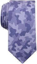 Bar III Men's Indigo Camouflage-Print Tie, Only at Macy's