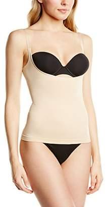 Cette Women's The Magic Corset Vest Shapewear Top,(Size:Large)