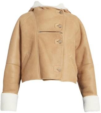 Loewe Shearling Crop Jacket