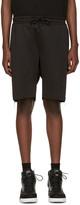 Pyer Moss Black Evans Zip Shorts