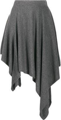 Michael Kors Collection High-Low Skirt