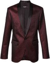 DSQUARED2 metallic fitted blazer - men - Silk/Cotton/Polyester - 48