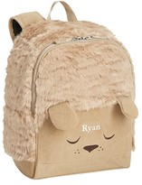 Pottery Barn Kids Mackenzie Labradoodle Fur Critter Backpack