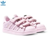 adidas Pink Infants Superstar Trainers