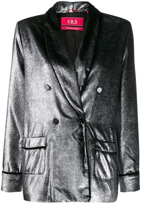 F.R.S For Restless Sleepers Argento blazer