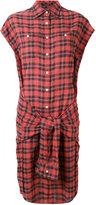 R 13 wrap shirt dress - women - Cotton/Polyester - M