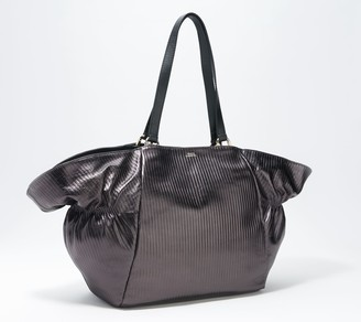Vince Camuto Pleated Leather Tote - Yara