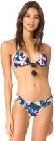 Splendid Tropical Traveler Reversible Bikini Top