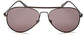 Calvin Klein Aviator Sunglasses, 58mm