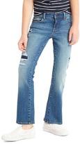 Gap High stretch rip & repair boot jeans