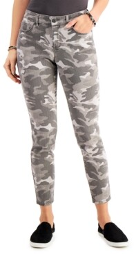 Style&Co. Style & Co Camo-Print Curvy Skinny Jeans, Created for Macy's