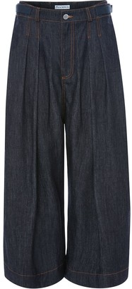 J.W.Anderson Pleated Wide Jeans
