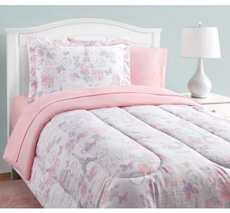Alexa And Bella Parisian Petals 11-Piece Bed in a Bag With Extra Sheet Set Full