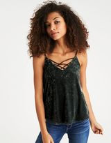 American Eagle Outfitters AE Strappy Velvet Cami