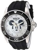 Invicta Men's 'Disney Limited Edition' Automatic Stainless Steel and Silicone Casual Watch