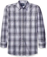 Wrangler Men's Big and Tall Wrinkle Resist Western Long Sleeve Two Pocket Snap Woven Shirt