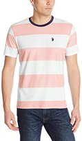 U.S. Polo Assn. Men's Wide Stripe Crew-Neck T-Shirt