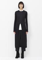 Jil Sander black dress knitted
