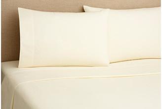 Belle Epoque 220TC Percale Queen Sheet Set - Cream